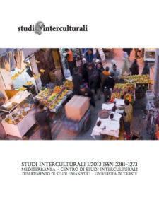 Copertina Studi Interculturali 2013-01