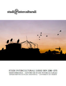 Copertina Studi Interculturali 2013-03