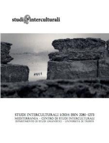 Copertina Studi Interculturali 2014-01