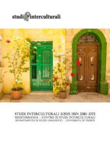 Copertina Studi Interculturali 2015-03